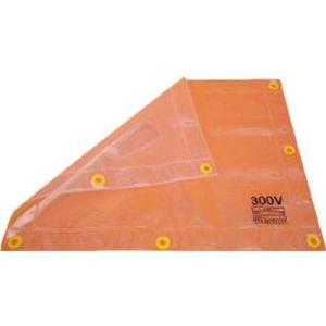 (耐電保護具)ワタベ 低圧透明シート500×600mm(300V以下)304|unoonline