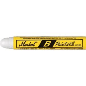(工業用マーカー)LACO Markal 工業用マーカー ペイントスティック B 白 80220