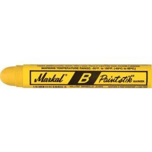 (工業用マーカー)LACO Markal 工業用マーカー ペイントスティック B 黄 80221