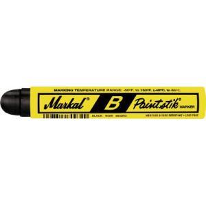 (工業用マーカー)LACO Markal 工業用マーカー ペイントスティック B 黒 80223