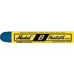 (工業用マーカー)LACO Markal 工業用マーカー ペイントスティック B 青 80225
