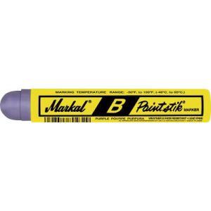 (工業用マーカー)LACO Markal 工業用マーカー ペイントスティック B 紫 80228