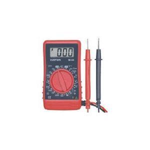 (電気測定器 テスタ)カスタム デジタルテスタ  M-04|unoonline