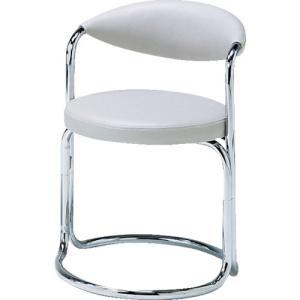 (応接セット)ミズノ 簡易応接セット用椅子(アイボリー) MK-717