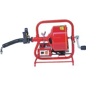 (排水管掃除機)ヤスダ 排水管掃除機FX3型電動  FX3-8-9