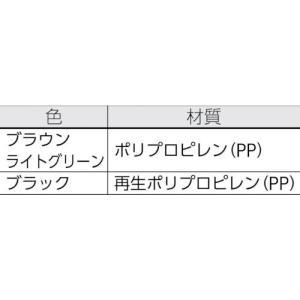 直送品 代引不可 (パレット)NPC プラスチックパレットZR−110130E 両面ニ方差し ライトグリーン  ZR-110130E-LG|unoonline|02