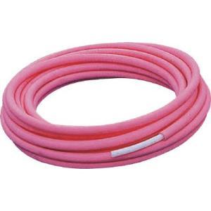 (水道配管資材)クボタシーアイ 保護材付架橋ポリエチレン管 10X10M−5MM赤  PEX 10X10M-5R|unoonline