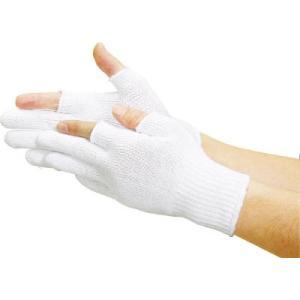 (すべり止め手袋)トラスコ 2本指出しすべり止め付手袋  TG-F2 unoonline