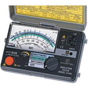 送料無料 (電気測定器 テスタ)共立電気計器 KYORITSU 2レンジ小型絶縁抵抗計 MODEL3148A|unoonline