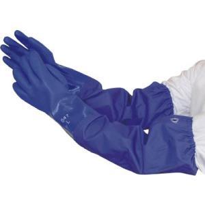 (腕カバー付手袋)ビニスター ジョイハンド腕カバー付 LL  647-LL|unoonline