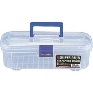 (プラスチック 工具箱 ツールボックス 道具箱 おしゃれ)リングスター スーパークラブR−34Sクリア(中皿なし)  R-34S-C|unoonline