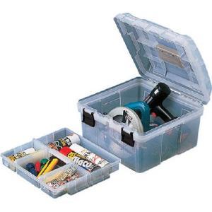 (プラスチック 工具箱 ツールボックス 道具箱 おしゃれ)リングスター スーパーストッカーRS−395クリア  RS-395-C|unoonline