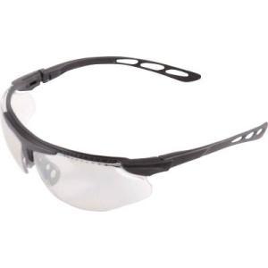 (二眼型 保護メガネ)トラスコ 二眼型セーフティグラス (フィットタイプ) TSG-9171BK