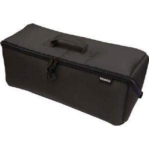 (腰袋 工具袋 工具入れ おしゃれ)トラスコ 大開口布製工具ケース ブラック 420mm  TDTC-420-BK unoonline