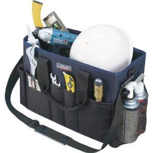 (腰袋 工具袋 工具入れ おしゃれ)リングスター ミスターツールバッグMB−4500ブラック/ブルー  MB-4500-BK/B|unoonline
