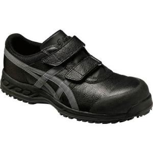 (安全靴)アシックス ウィンジョブ70S ブラックXガンメタリック 25.5cm  FFR70S.9...