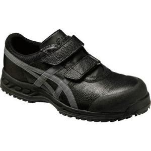 (安全靴)アシックス ウィンジョブ70S ブラックXガンメタリック 27.5cm  FFR70S.9...