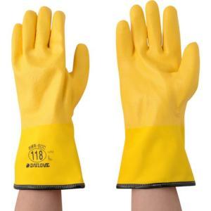 【特長】●-60℃環境下でも硬くならないポリウレタンを使用した防寒用手袋です。●単層構造の手袋は作業...