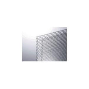 直送品 代引不可(板材)光 ポリカ中空ボード透明4mm KTP2191W−1  KTP2191W-1|unoonline
