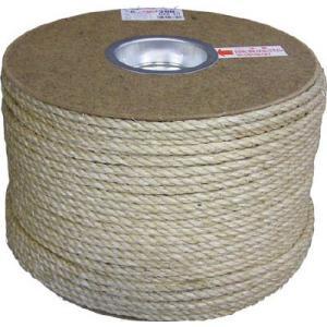 (ロープ)ユタカ マニラロープドラム巻 6φ×200m  PRM-10