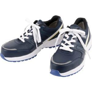 (作業靴 安全靴 保護靴)TRUSCO トラスコ 軽量スニーカー T−Lightop 28.0cm ネイビー  TYM-280NB|unoonline