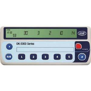 (カウンタ)ライン精機 電子数取器 5連式  DK-5005A