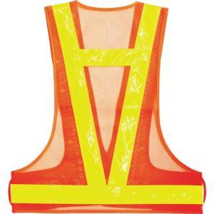 (安全ベスト)スリーライク 耐候性ベスト 蛍光オレンジ×蛍光ライムイエロー  HDV50-FO unoonline 03