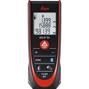 (レーザー距離計)タジマ レーザー距離計ライカディストD2  DISTO-D2BT|unoonline