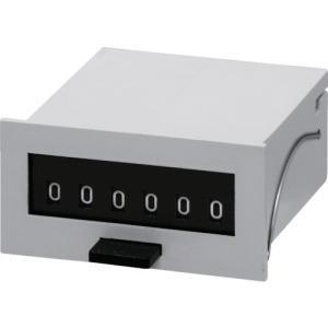 (カウンタ)ライン精機 電磁カウンター(リセットツキ)6桁 MCF6XAC100V