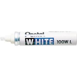 (工業用マーカー)ペンテル ホワイト極太(工業用マーカー)X100WLD 10本入