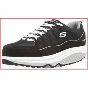 [スケッチャーズ] Women's Shape Ups 2.0 Comfort Stride Fashion Sneaker, Black/White, 8.5 M US 141[並行輸入]|unrosage-ystore