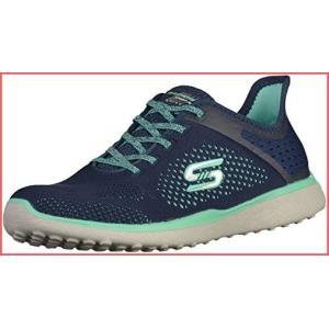 [スケッチャーズ] Skechers - Microburst [並行輸入品] - 23327NVGR - Color: ネイビブルー - Size: 24.0|unrosage-ystore