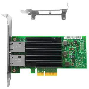 送料無料  vogzone forインテルx550-t2?10?GbEネットワークカード(CNA/NIC) デュアル銅rj45ポートインテルelx550at2の画像