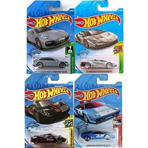 ホットウィールHot Wheels Lambo Roadster Centario 4セット Exo...