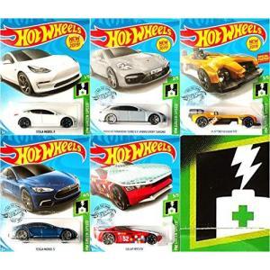 ホットウィールHot Wheels HW グリーンスピードバンドル5車セットバンドルセット Tesl...
