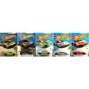 ホットウィールHot Wheels ランボルギーニ 5車セット Aventador J & Cent...