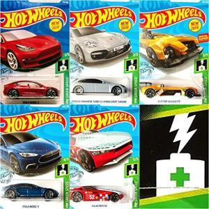 ホットウィールHot Wheels フルHW Green Speed Bundle 5車セット セッ...