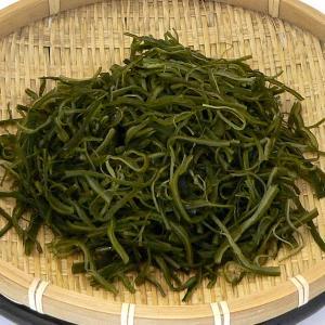 自然の味そのまんま 三陸茎若布(スライスわかめ)[120g]|uocha