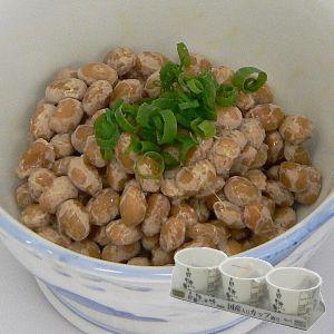 自然の味そのまんま 国産大豆カップスリー納豆[30g×3] uocha