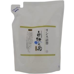自然の恵そのまんま 石けんシャンプー専用リンス 詰替用[450ml]|uocha