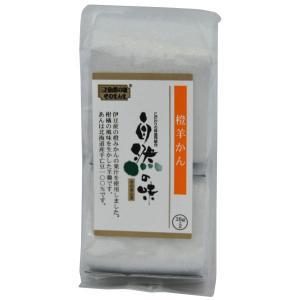自然の味そのまんま 橙ようかん [38g×2] uocha