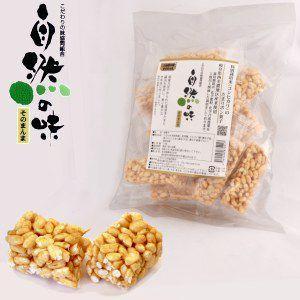 自然の味そのまんま 特別栽培米(コシヒカリ)のたまりポン菓子[115g]|uocha