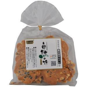 自然の味そのまんま 国産原料の黒大豆せんべい[15枚] uocha
