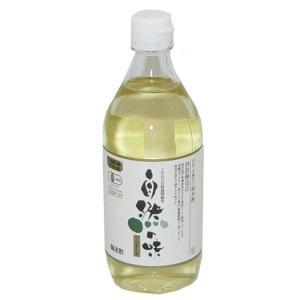 自然の味そのまんま 国産 有機米の純米酢[500ml]|uocha