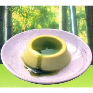 抹茶をつかった静岡の『茶プリン』[4個入・1箱/抹茶ソース付]|uocha