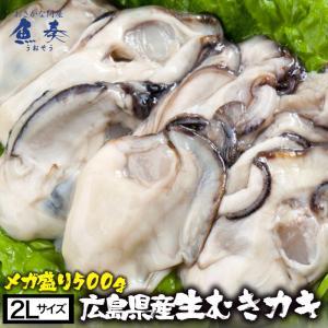 かき カキ 牡蠣 大粒 広島産 剥きかき500g(15個前後 2L) 同梱推奨 在宅 母の日 父の日...