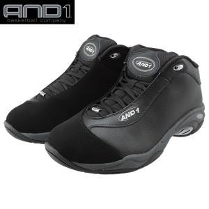 AND1 TAI CHI LX 黒 アンドワン タイチミッド ブラック バッシュ メンズ バスケットシューズ D1055MBBB|up-athlete