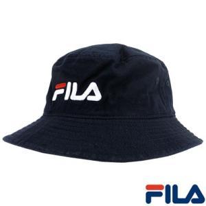 メンズ レディース バケットハット フィラ バケハ 帽子 サハリハット 定番ロゴ BUCKET HAT 143713521 up-athlete