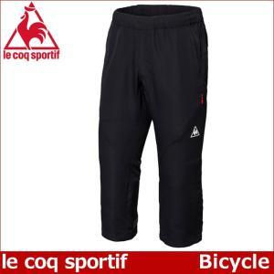 ルコック ウーブンサイクルパンツ 3/4パンツ Lecoq メンズ サイクリングウェア  自転車 QC-381173 17FW|up-athlete