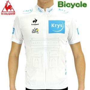 ルコック (デサント) ツールドフランスレプリカ サイクルジャージ 半袖シャツ Lecoq 自転車   QC-7404TDF|up-athlete